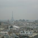 Paris from the Pompidou by Kylie Blakemore