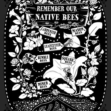 Our Native Bees by tumblebuggie