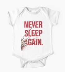 Freddy Krueger - Never Sleep Again One Piece - Short Sleeve