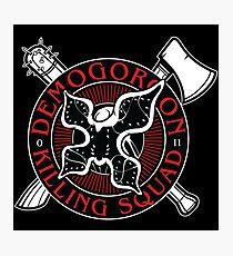 Demogorgon Killing Squad Photographic Print