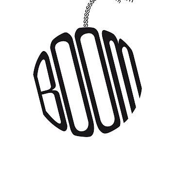 typography bomb by TheHellsRocker