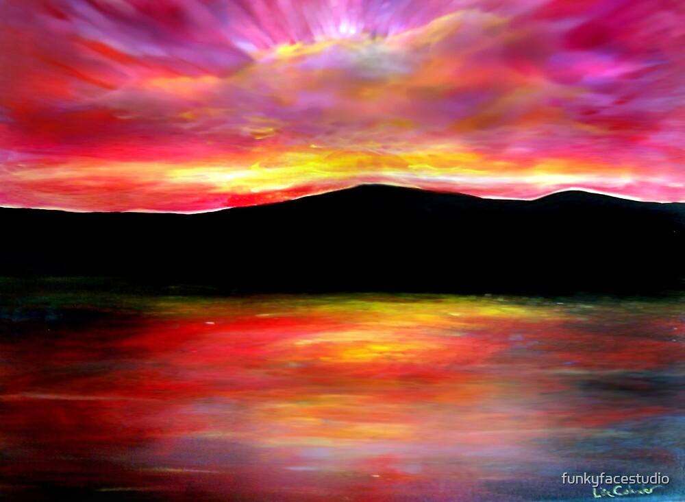 Painted Sky by funkyfacestudio