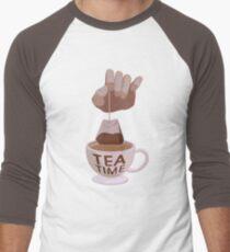 Tea Time  Men's Baseball ¾ T-Shirt