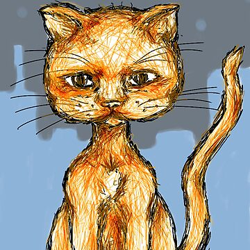 city cat by bethraebel
