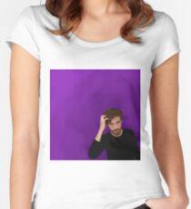 Dan Stevens  Women's Fitted Scoop T-Shirt