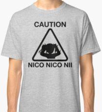 Caution Nico Nico Nii Classic T-Shirt