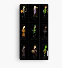 RPG Alignments Canvas Print