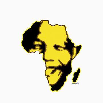 Nelson Mandela 2 by Mysteryart