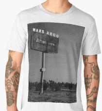 Mars Argo vintage deserted billboard design Men's Premium T-Shirt
