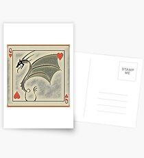Dragon of Hearts  Postcards