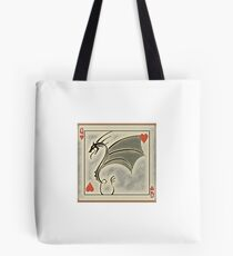 Dragon of Hearts  Tote Bag