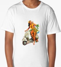 Scooter Girl Aloha Long T-Shirt