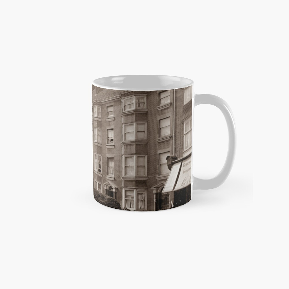 Ref: 49 - Montague Place, Worthing, West Sussex. Classic Mug