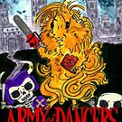 Army of Dangers, a guinea pig Army of Darkness by Rachel Smith