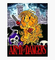 Army of Dangers, a guinea pig Army of Darkness Photographic Print