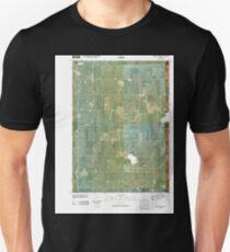 USGS TOPO Maps Iowa IA Rush Lake West 20100427 TM Unisex T-Shirt