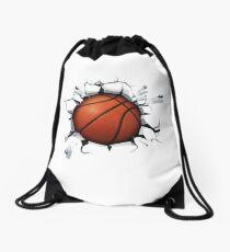 Basketball Smash Drawstring Bag