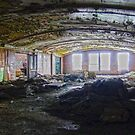Vaulted Ceilings and Debris by Steven Godfrey