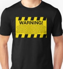 Warning! Chief Keef Unisex T-Shirt