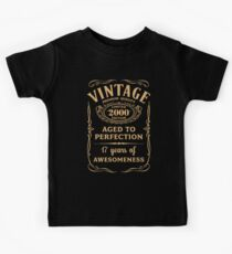 Golden Vintage Limited 2000 Edition - 17th Birthday Gift Kids Clothes