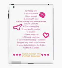The Snogging Scale iPad Case/Skin