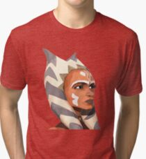 ahsoka tano Tri-blend T-Shirt