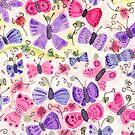 Glückliche Schmetterlinge von Jacqueline Hurd