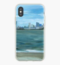 Boston from Georges Island iPhone Case
