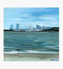 Boston from Georges Island Photographic Print