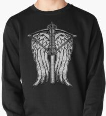 Angel Wings and Crossbow (Dirty) Pullover