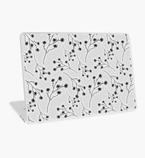 Baby's Breath Flower Pattern - White Laptop Skin