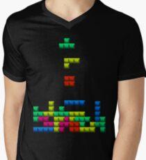 TETRIS Men's V-Neck T-Shirt