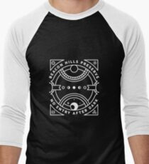 Beacon Hills Preserve - No Admission After Dark Men's Baseball ¾ T-Shirt