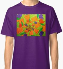 Whirling Potted Tulips Classic T-Shirt