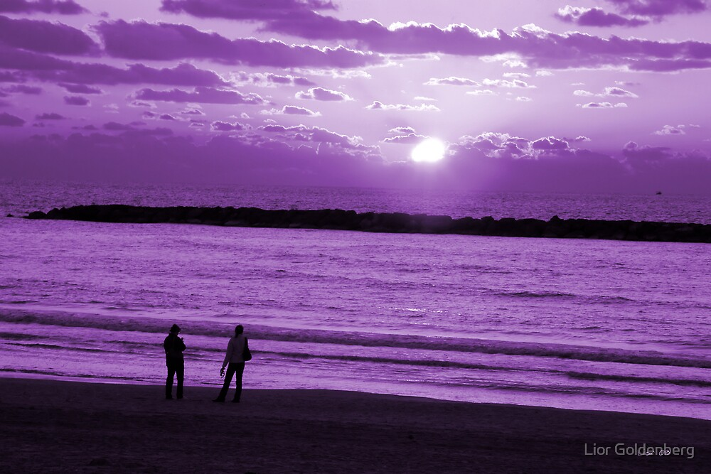 Deep purple by Lior Goldenberg