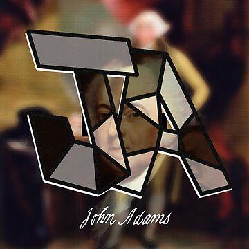 Founding Father John Adams by Kingdomkey55