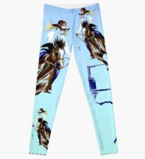 BARREL HORSES ROCK Leggings