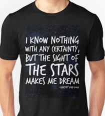 The Stars Make Me Dream Unisex T-Shirt