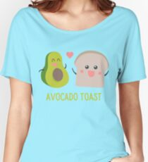 Avocado Toast T-Shirt Women's Relaxed Fit T-Shirt