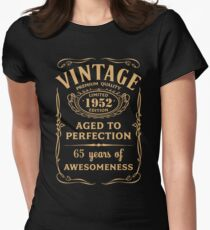 Golden Vintage Limited 1952 Edition - 65th Birthday Gift T-Shirt
