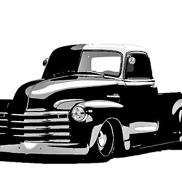 50 Chevy Truck by Snowballs