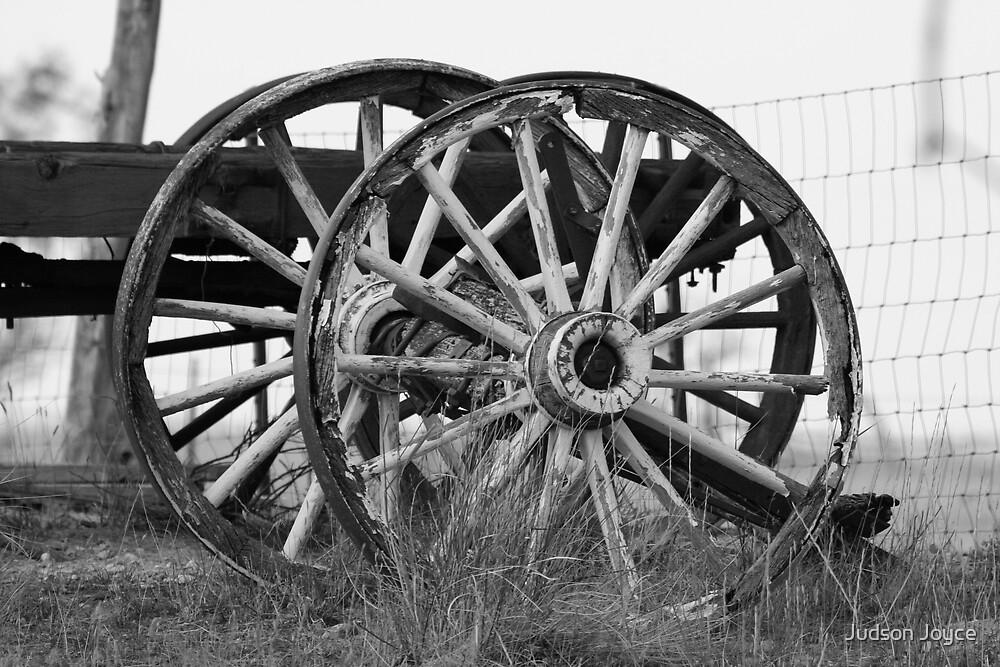 Wagon Wheels by Judson Joyce