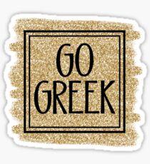 Go Greek Sorority Sticker