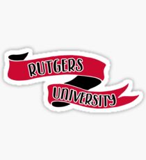 Rutgers University - Style 8 Sticker