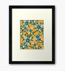 Yellow Floral Framed Print
