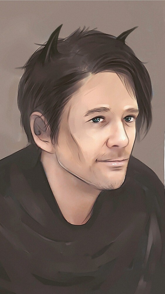 Sean Patrick Flanery god portrait by Gregory Welter