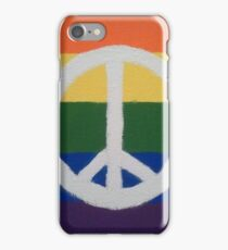 Rainbow Peace Sign iPhone Case/Skin