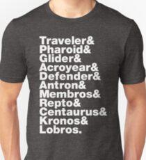 Lists: Micronauts Unisex T-Shirt