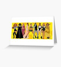 Iconic Evolution Greeting Card