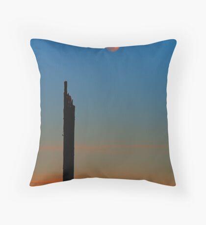 Moon Post Throw Pillow